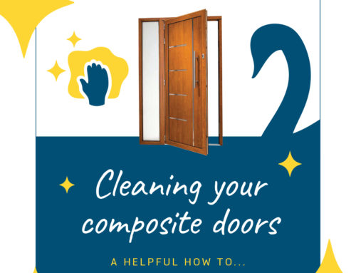 How to clean composite doors